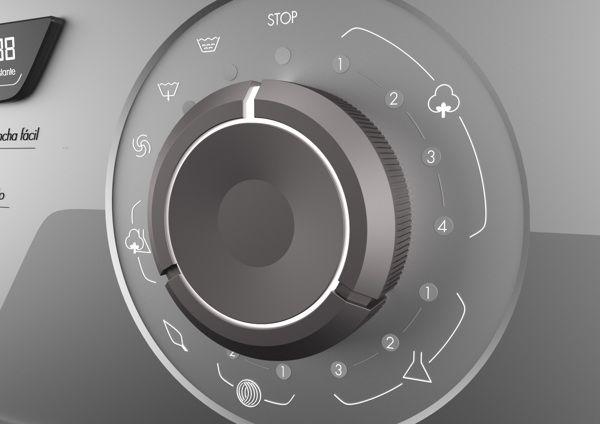 WM - Washing Machine Concept by Guido Lanari, via Behance