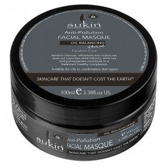 Sukin Oil Balancing Plus Charcoal Anti-Pollution Facial Masque 100 mL