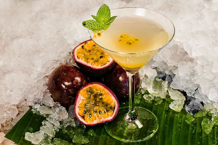 Hainan Island is one of our signature cocktails. Taste of lychee, coconut, passion fruit and sake is just delicious.