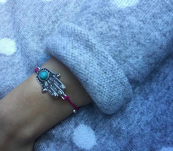Pulsera mano de fátima #manodefatima #bracelet #pulsera #chicas #hamsa #jamsa #khamsa #hombre #amistad #amor #regalos #iktbypaula #etsy #etsyshop #etsygift #etsyseller #gifts #amigas #bisuteria #2018