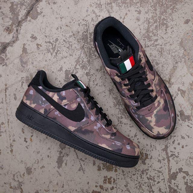 Nike Air Force 1 07 – AV7012 200 •• Italy Country Camo i