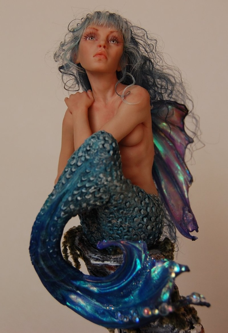 Mermaid Ida another of Nadiia Evans stunning masterpieces!