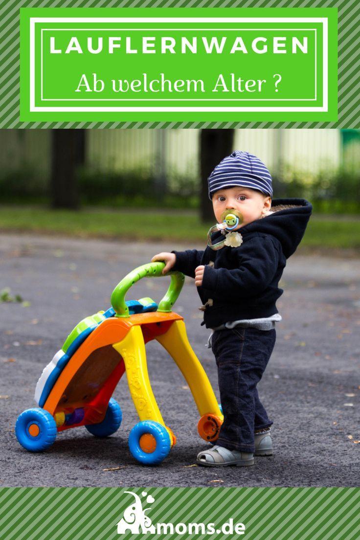 #Lauflernwagen gibt es aus #Holz oder Kunststoff. Für #Jungen ist eine Lauflern… – moms.de