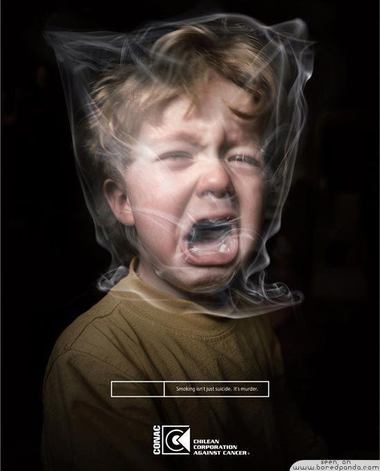 Top 40+ Creative Ads Made to Stop Smoking | Bored Panda
