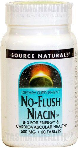 Niacin supplements, Niacin Dosage, Niacin 500mg, Inositol Hexanicotinate - Tasman HealthB3 New Zealand
