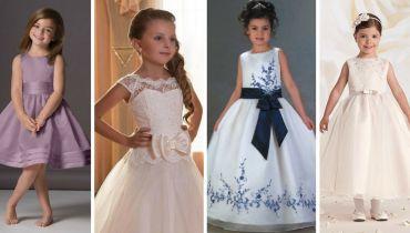 Vestidos Lindos para Daminhas de Casamento