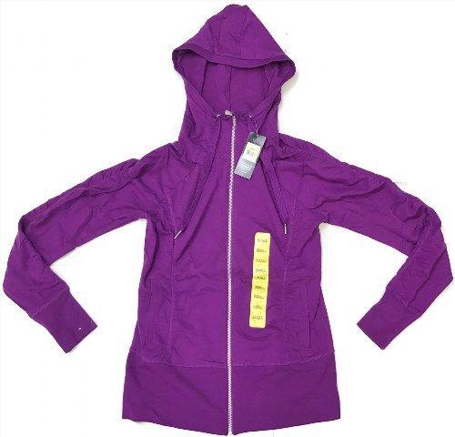 19.33$  Buy now - http://viwen.justgood.pw/vig/item.php?t=5ab8e031134 - CHAMPION ELITE Women's NWT STRETCH HOODIE GEMSTONE PURPLE Zip-Up - SIZE SMALL 19.33$