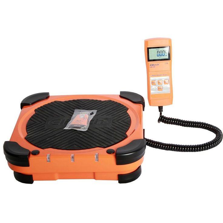 Elitech LMC200 220lbs Electronic Refrigerant Charging Digital Weight Scale