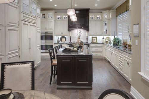 a kitchen with a touch of elegance oriole model the