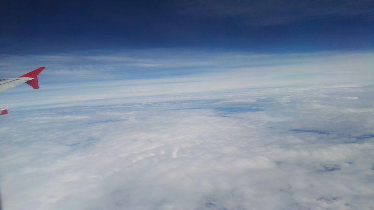 #viaje #travel #cielo #sky #nube #nubes #cloud #clouds #plain #avion