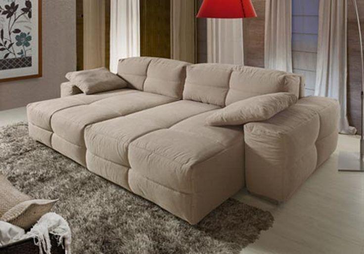 09 - Estofado modulado retratil e reclinavel Abbraccio
