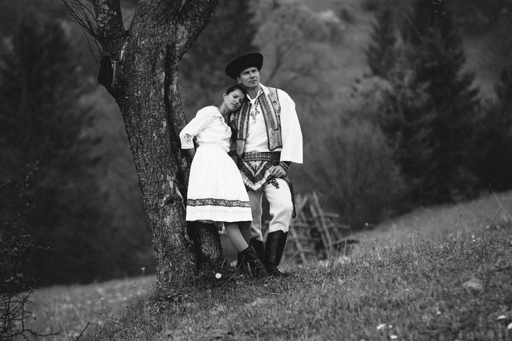 Photograph Couple in slovakian traditional clothes by Jan Bruncak on 500px