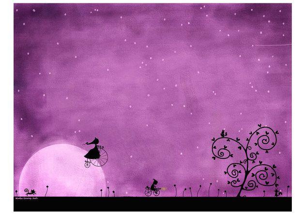 ------------------------ N.B. - Nous proposons sur demande des affiches d'un plus grand format, merci de nous contacter. ------------------------  La lune se lève, dans le ciel pourpre, il est...