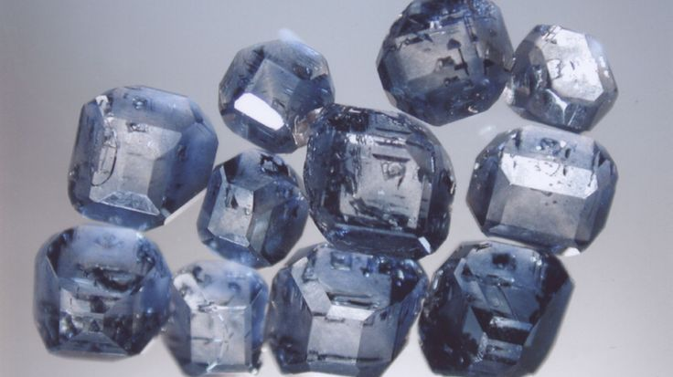 Turning ashes into diamonds. Cooler than an urn! Most of the diamonds synthesized from cremated remains come out blue, due to trace amounts of boron in the body.