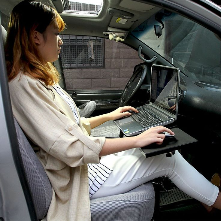 360 Degree Rotation Car Laptop Desk, Car Seat Laptop Tray