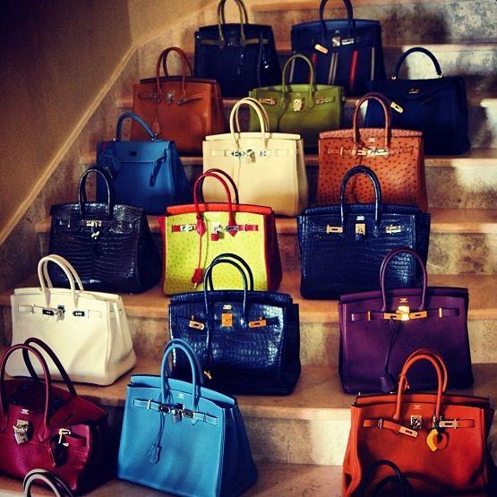 Birkins. I think if i saw this I'd need someone to pinch me. or punch me.: Birkin Bags, Hermes Bags, Hermes Birkin, Color, Design Handbags, Girls Things, Dreams Coming True, Hermes Handbags, Hands Bags