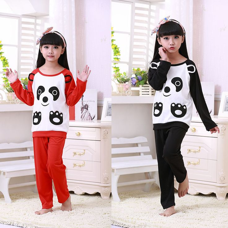 Pajamas For Girls Cotton Cartoon Raglan Sleeve Girls Frozen Pyjamas 2015 Pijama Unisex Animal Algodon Kids Pijamas Sets 30#430
