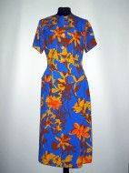 "Deux pieces flori galbene pe fond albastru ""Didier Parakian""  anii '90 http://www.vintagewardrobe.ro/cumpara/deux-pieces-flori-galbene-pe-fond-albastru-didier-parakian-anii-90-7495621 #vintage #vintageautentic #vintagewardrobe #vintageclothing #spring"