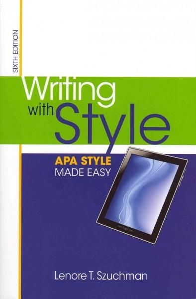 easy apa style Apa help apa guides apa help apa guides apa tools apa the official companion to the publication manual of the american psychological association, sixth edition sample paper: your library has many books to help with apa style citation check near the call number bf 767 some titles.