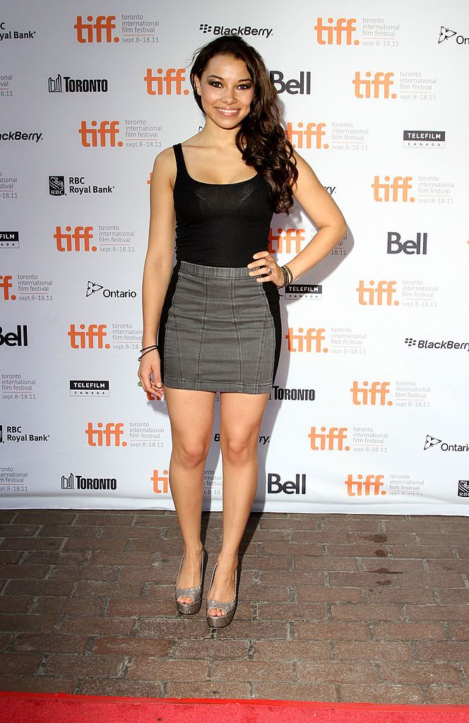 Actress Jessica Parker Kennedy Attends 50 50 Premiere At Ryerson