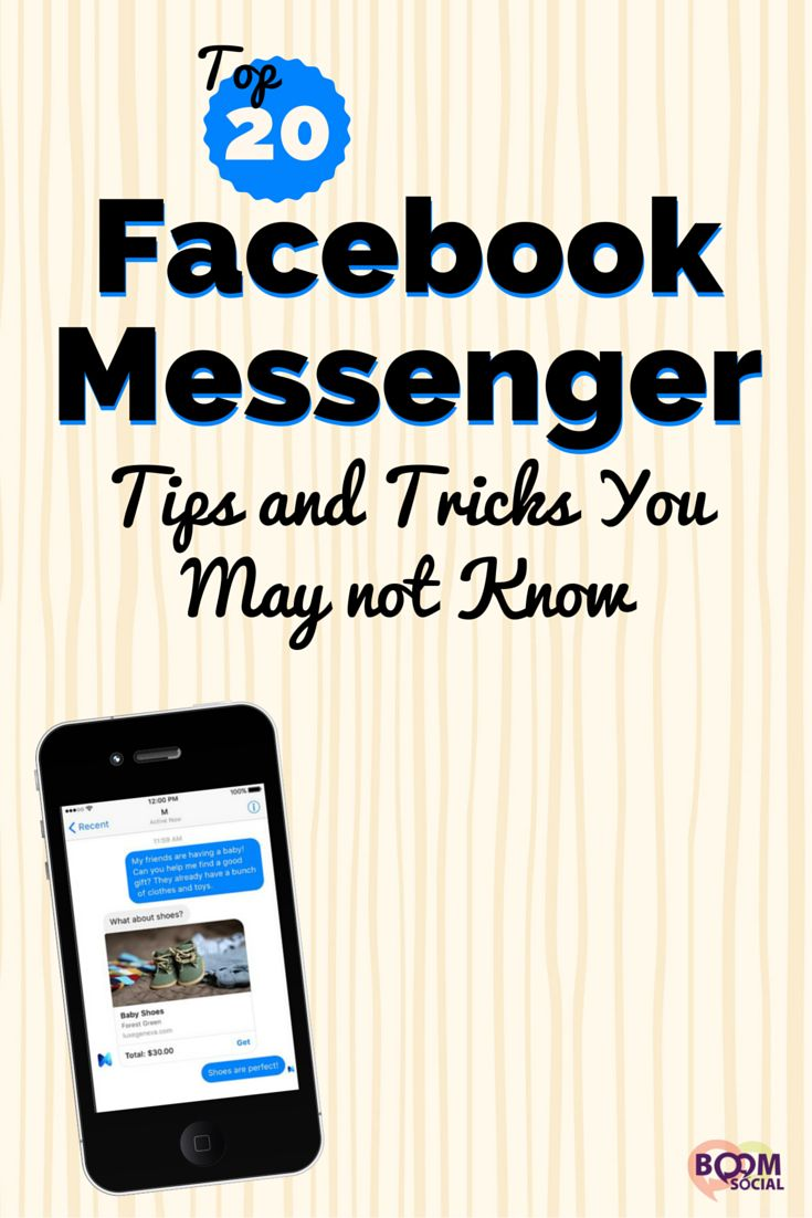 Facebook Messenger does so much more than most of us realize! This article shares the top 20 Facebook Messenger tips and tricks you may not know.