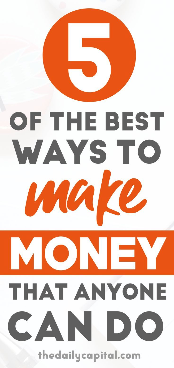 7 of the Best Ways to Make Money that Actually Work! – Financial Freedom