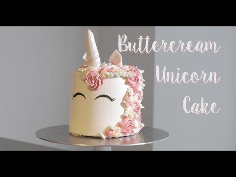 Tarta Unicornio con interior de arcoíris | Unicorn Cake | Quiero Cupcakes! - YouTube