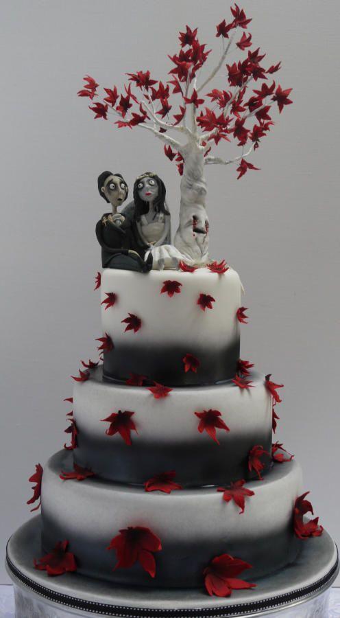 freaky folk wedding cake