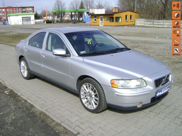 Volvo S60 - 2.4 D5 163 KM, Salon Polska,Serwisowany,Stan techn.Bardzo Dobry