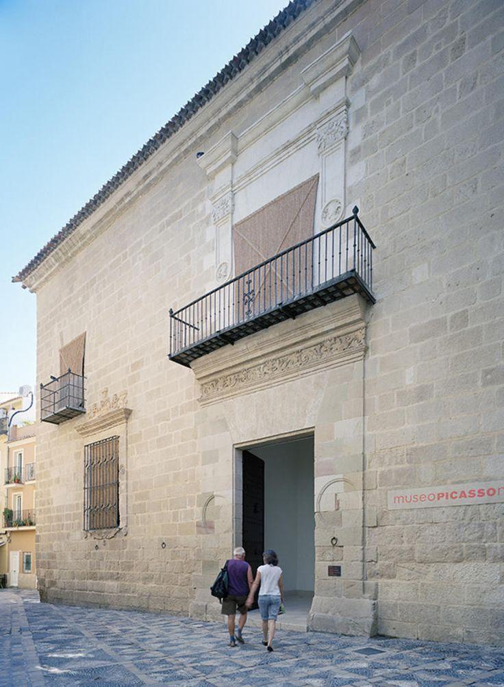 Málaga,   Fachada del Museo Picasso   Ake Lindman © Museo Picasso Málaga