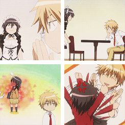 kaichou wa maid sama animated GIF