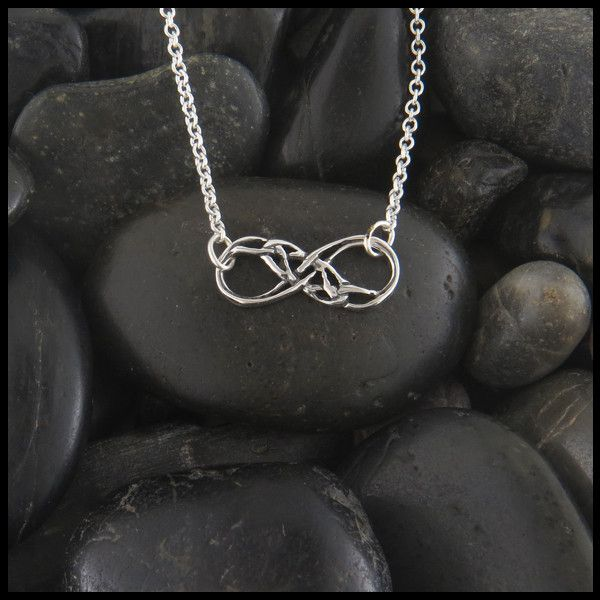 89 best Infinity Necklaces Rings images on Pinterest Pendants