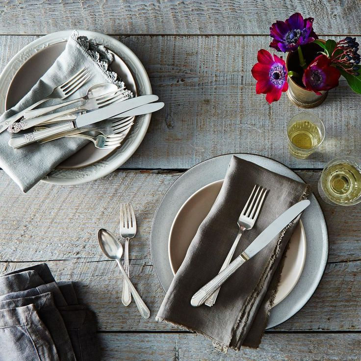 Vintage Silver-Plated Eclectic Flatware (Sets of 4) [Well now, look at that! Guess I've been ahead of this trend for years now!]