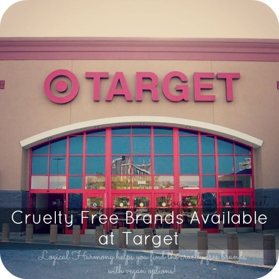 A list of cruelty free brands available at Target. All brands listed are free of animal testing and have vegan options. http://www.logicalharmony.net/cruelty-free-brands-available-at-target?utm_content=buffer01996&utm_medium=social&utm_source=pinterest.com&utm_campaign=buffer  #crueltyfree #veganbeauty #cfbloggers http://www.logicalharmony.net/cruelty-free-brands-available-at-target/?utm_content=buffer227c4&utm_medium=social&utm_source=pinterest.com&utm_campaign=buffer