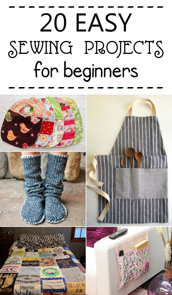 20 Simple Nail Designs For Beginners: 20 Easy Sewing Projects For Beginners