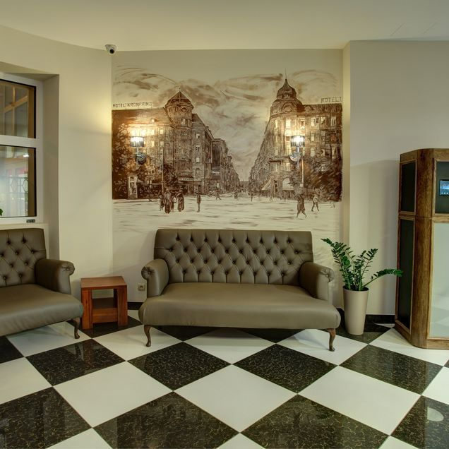 Receptiondesk Hotel Piast Wrocław #silfor #silforpolskiehotele #siecsilfor…