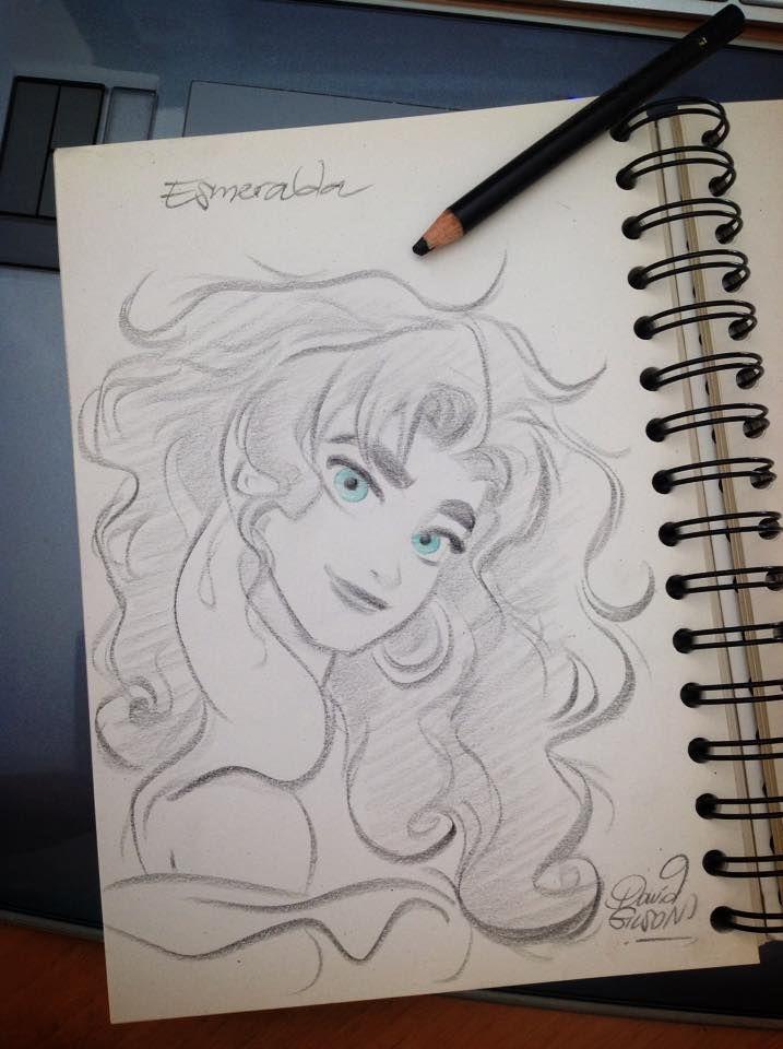 """""""Esmeralda"""" by princekido.deviantart.com on @DeviantArt #Disney #Esmeralda"""