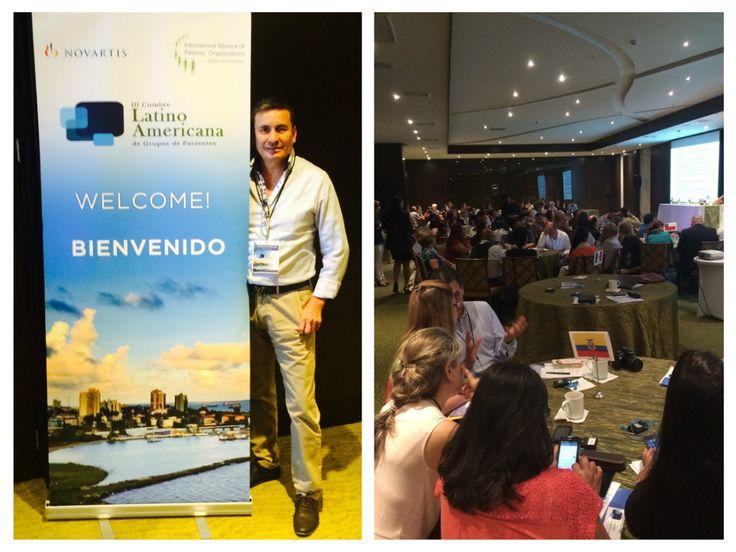 FUNDAPSO haciendo presencia en la III cumbre Latinoamericana de grupo de pacientes en Panamá