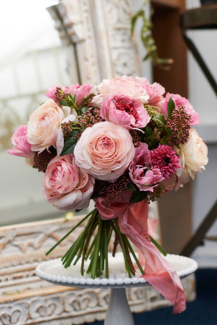 Dusky pink bouquet
