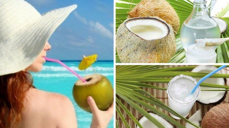 6 Razões para Beber Água de Coco