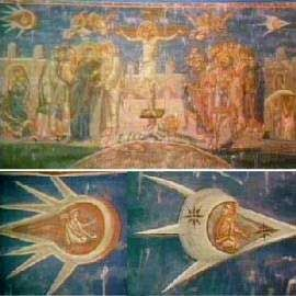 "Ancient Alien Artifacts | Ancient Aliens in ""The Crucifixion"" Painting by Jacques Legrand ..."