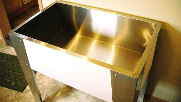 Dog Bath Tub Large Cool Large Utility Sink At Stainless Steel