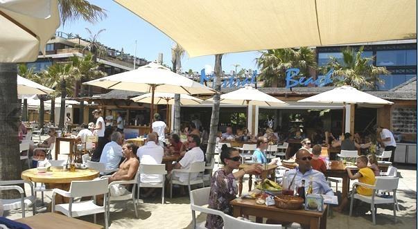 Mistal Beach, Peurto Banus  The best paella!!