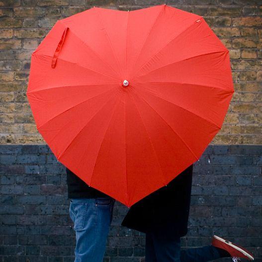 Heart Shaped Umbrella!
