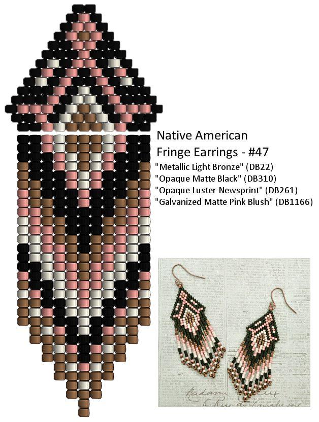 "8/0 seed beads Miyuki ""Metallic Chocolate"" (461)  11/0 Miyuki Delica beads ""Metallic Bronze"" (DB22)  11/0 Miyuki Delica beads ""Opaque Mat..."