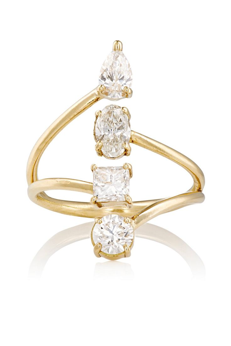 25 best ideas about Contemporary engagement rings on Pinterest