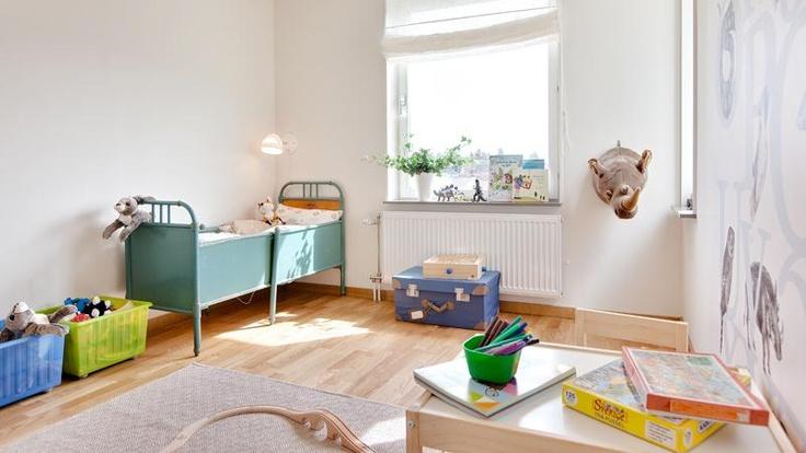 Barnrum. Projekt Solbacken, Hässelby, Stockholm