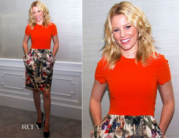 Elizabeth Banks In Preen – 'Pitch Perfect' LA Press Conference