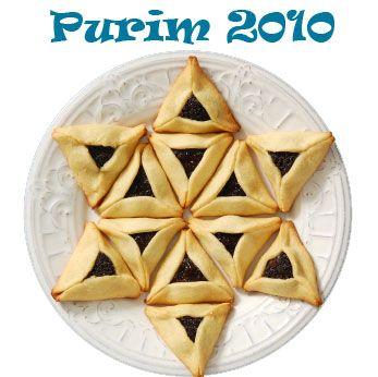 Star of David Hamantaschen. Cute for Purim!
