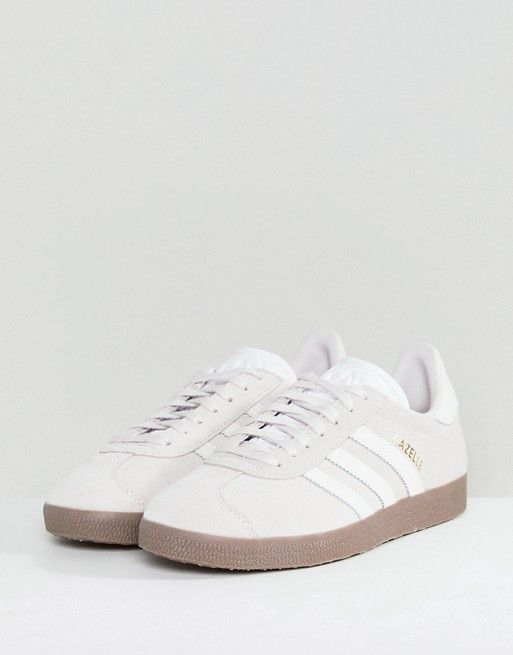724ae48fc59 adidas Originals | adidas Originals Gazelle Sneakers In Lilac With Dark Gum  Sole
